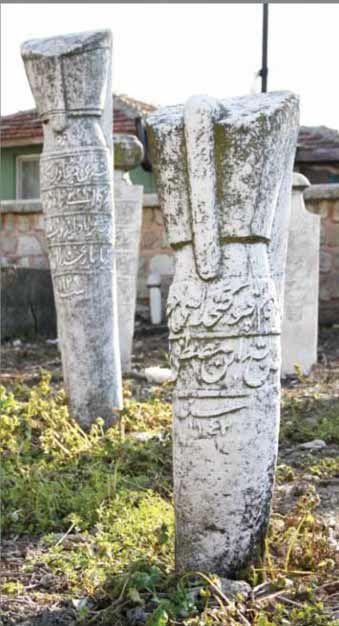 Janissary grave stones