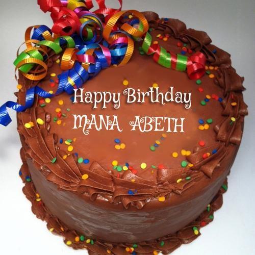 Write Name on Delicious Birthday Cake Online