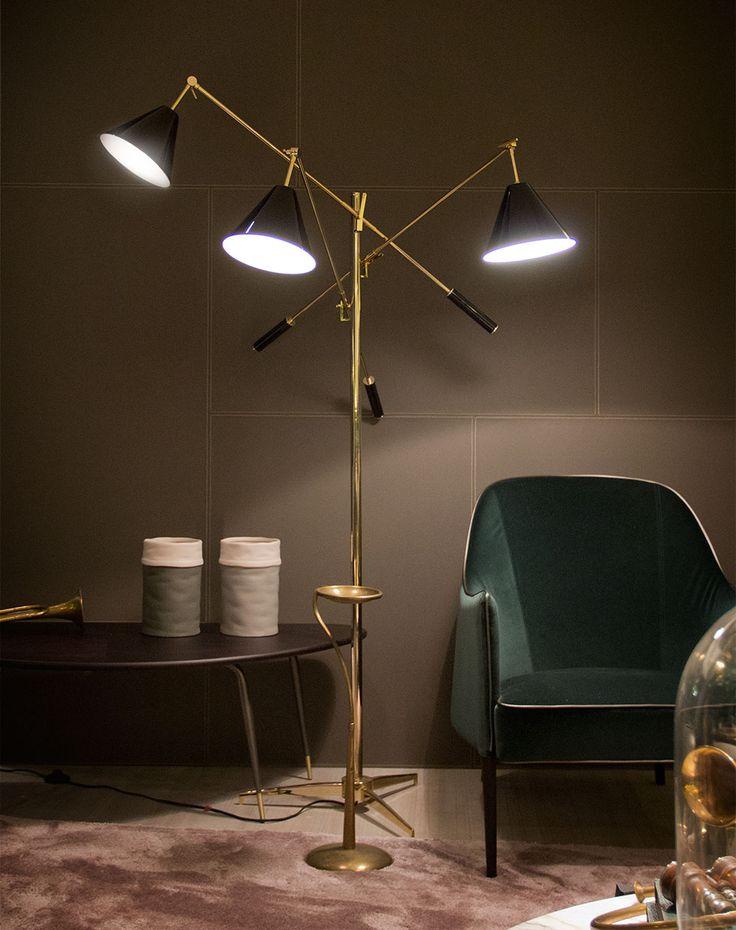 Floor lamps interior design for your living room #delightfull #uniquelamps #FloorLamps #TripodLamp #TripodFloorLamp #ModernHomeLighting #HomeLightingIdeas #BedroomLamps #DiningRoomLighting #LivingRoomLighting #KitchenLighting