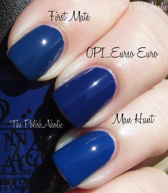Euro Nail: OPI...Eurso Euro Vs. China Glaze