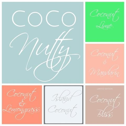 Coco Nutty Melt Package - Scent from Heaven Soy Melts & Candles