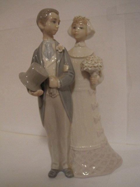 Vintage LLadro Wedding Cake Topper 1977 by MyAuntNelliesAttic   On ...