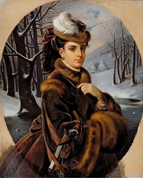 history-of-fashion:  ab. 1873-1875 Karóly Markó II - Adelina Patti