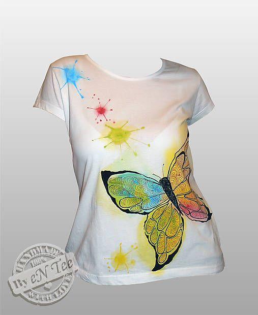 entee / Butterfly - dámske tričko