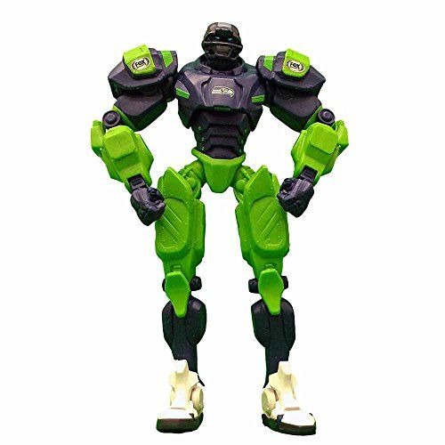 awesome NFL Seattle Seahawks 10-Inch Fox Sports Team Robot