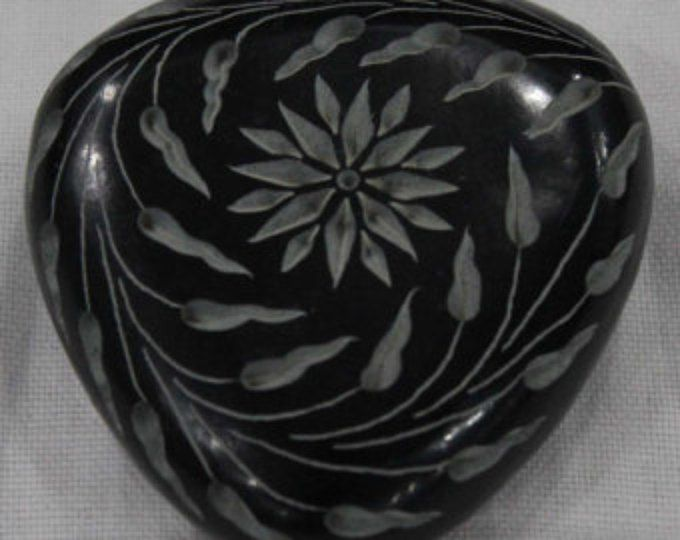 Pisapapeles tallado mano pieza de arte esteatita