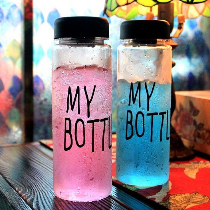 . Botol gaul yang lagi banyak dicari di KOREA JEPANG dan CINA!! Ayo sebelum banyak yang pake biar kamu jadi trendsetter!! Baru kejual 863 botol nih -------------------- KEREN untuk: Olahraga infused water Dijual lagi  Sebagai hadiah  Hadiah buat anak -------------------- -HARGA: 69.000 -WARNA: HITAM PUTIH BIRU KUNING HIJAU PINK -material : Tritan (BPA Free) -Diameter : 6.5cm -Height : 19.5cm -Volume : 450ml - 500ml -Usage Temperature : -40  100 -No microwave -Include penahan supaya ketika…