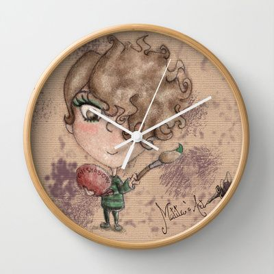 Matita's Art Wall Clock