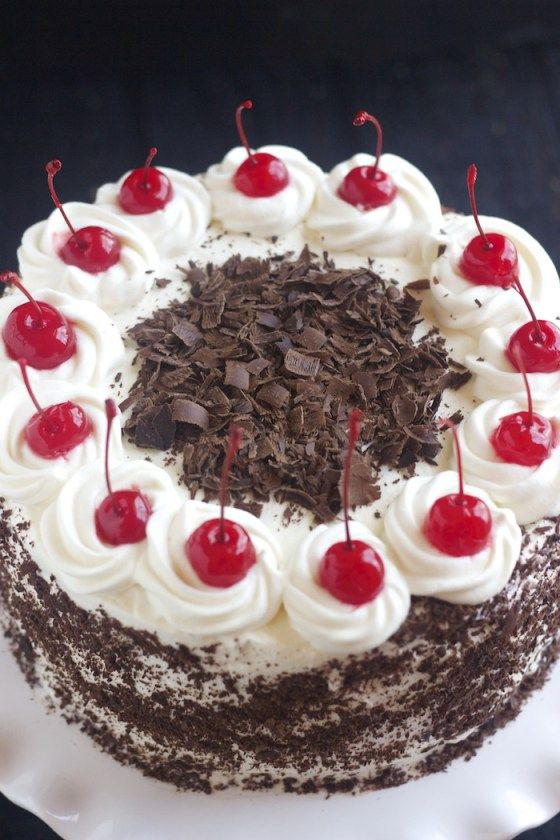 25 Best Ideas About Black Forest Cake On Pinterest