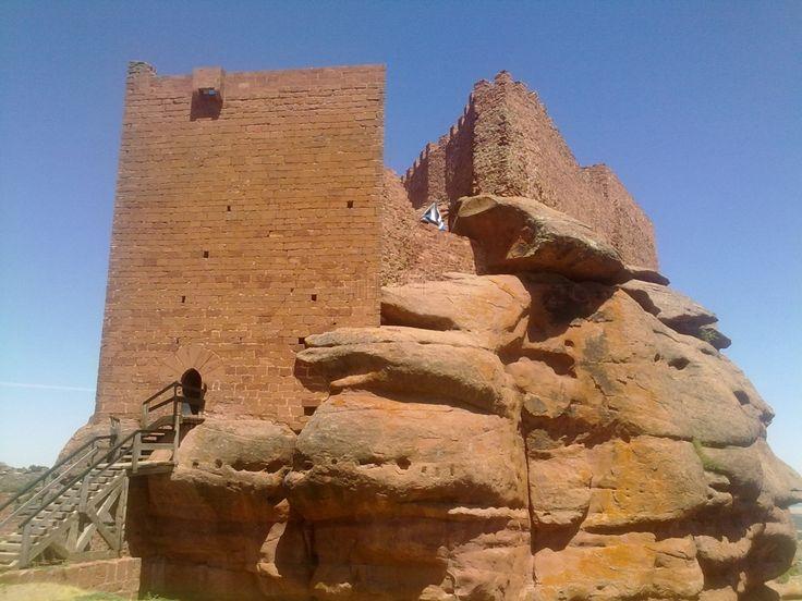 Castillo de Peracense, Teruel, España.