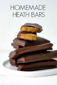Homemade Vegan Heath Bars | Fork and Beans