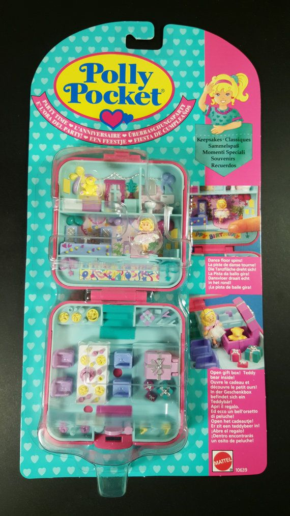Check out this item in my Etsy shop https://www.etsy.com/au/listing/463865165/vintage-polly-pocket-party-time-surprise
