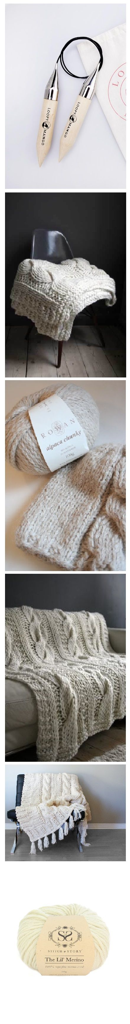 17 Best images about Blankets on Pinterest Cable, Cable knit throw and Chun...