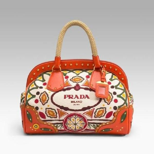 #Floral #Orange #Prada #Handbag Save the image and add it to your closet! http://wishi.me/?utm_source=Items_medium=Pinterest_campaign=StyleIt
