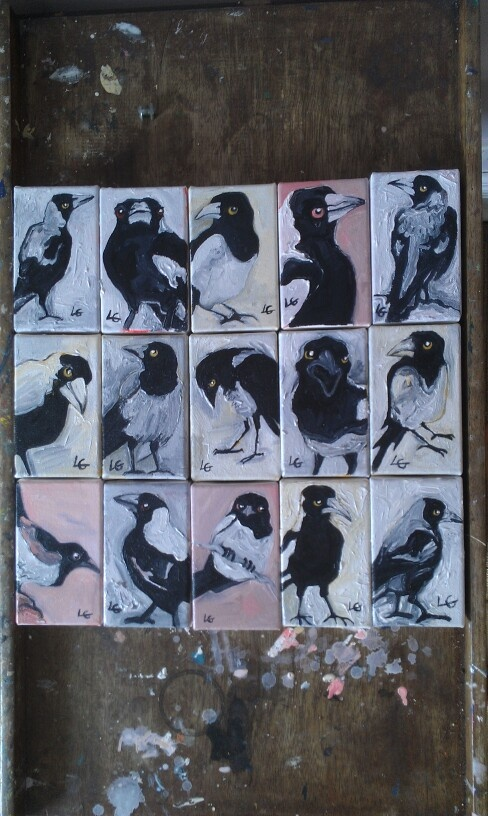 The full Magpie collection