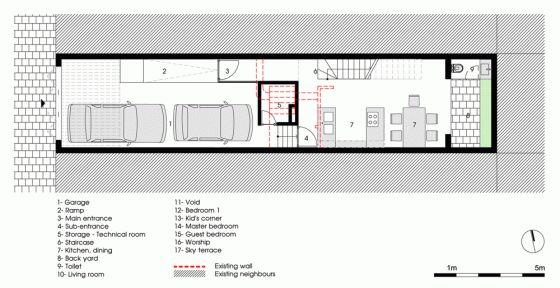 180 best arquitectura y m s images on pinterest for Diseno de casa de 180 metros cuadrados