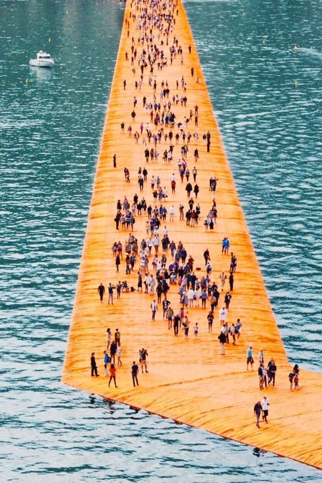 By Christo and Jeanne-Claude THE FLOATING PIERS