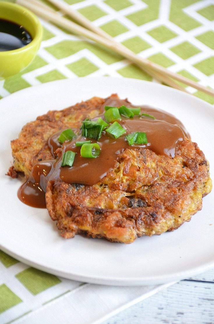 Homemade Egg Foo Young Recipe — Just like your favorite Chinese takeout dish!