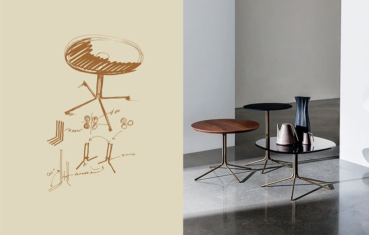 Be inspired by the story of the Genius coffee table  The design process creates shapes from sketch to the product #Sovet #Sovetitalia #Newshapesfordesign #design #furniture #interior