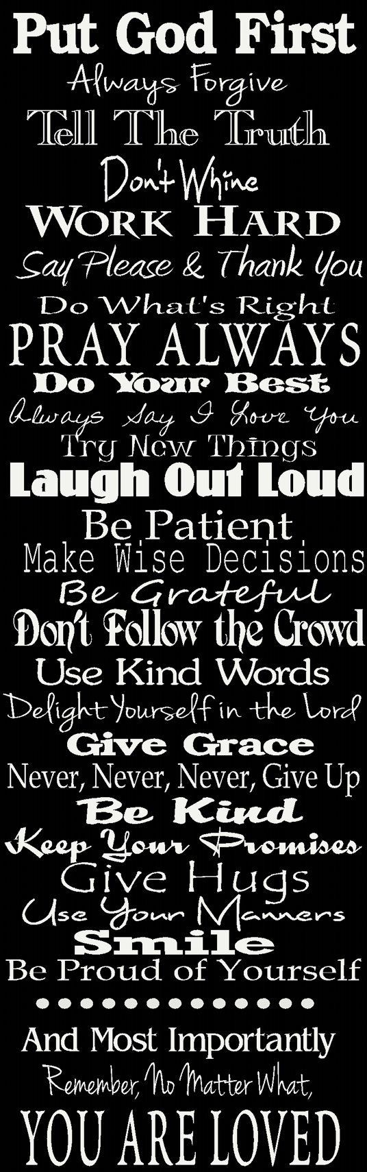 Family/ house Rules sign, Personalized for your family. I like but most importantly God comes first.