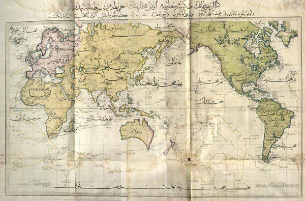 Dünya haritası 1803