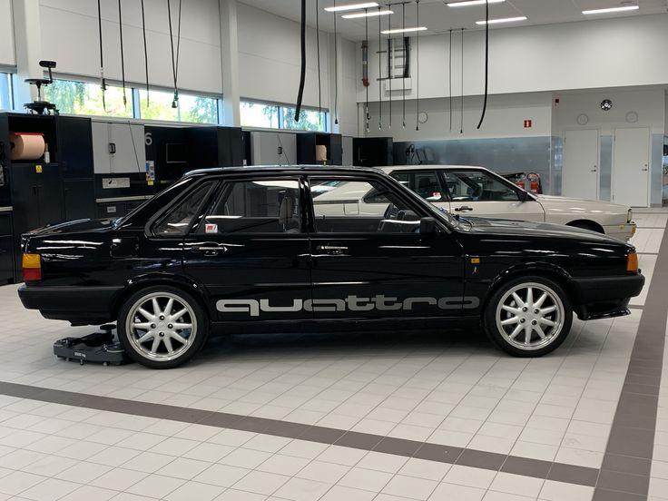 Pin auf Audi 80 quattro