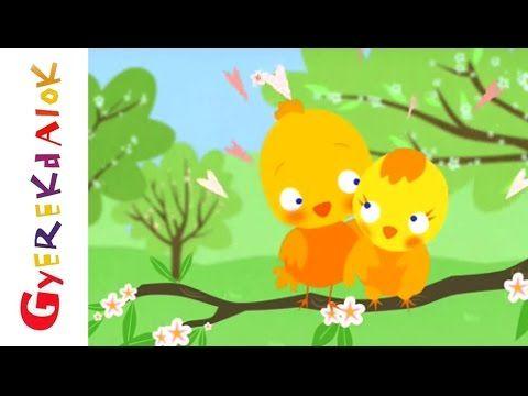 Tavaszi szél vizet áraszt (gyerekdal, rajzfilm gyerekeknek)