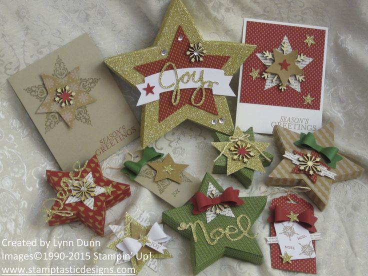 Beautiful Christmas Cards Tags And Little Gift Boxes