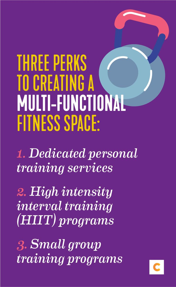 Three Perks To Creating A Multi Functional Fitness Space High Intensity Interval Training Hiit Program Workout Space
