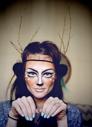Disfraz de ciervo casero disfraces pinterest - Disfraces halloween caseros ...