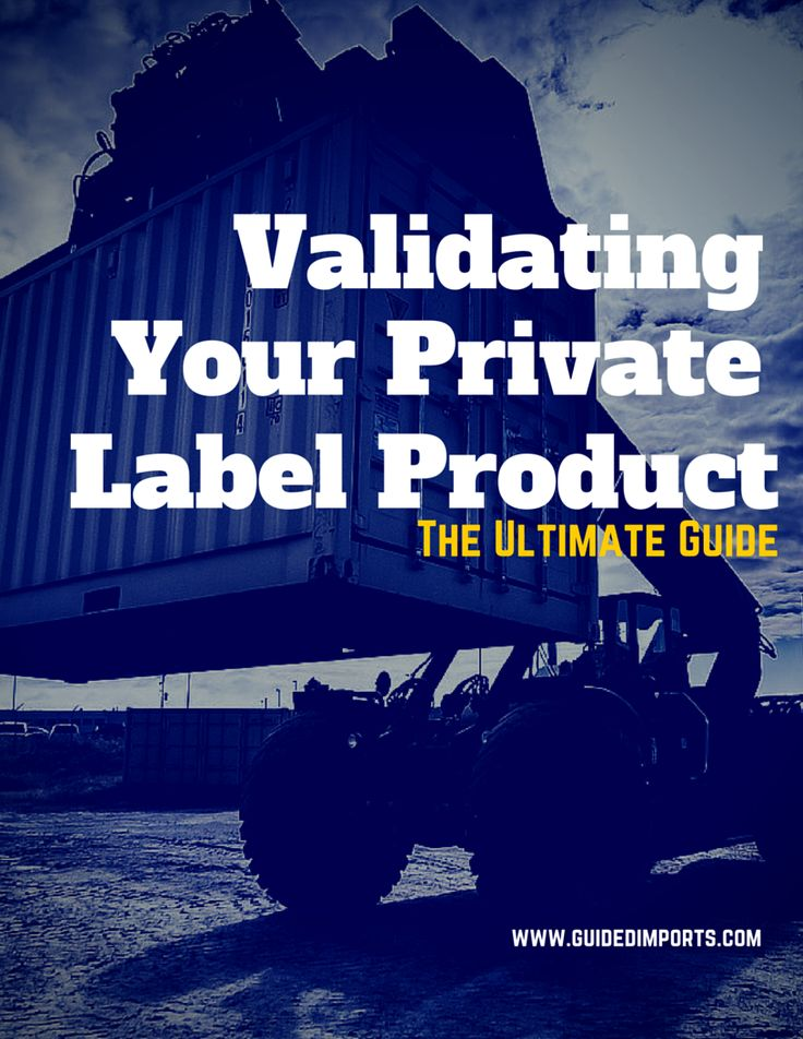 How to Validate Your Private Label Product