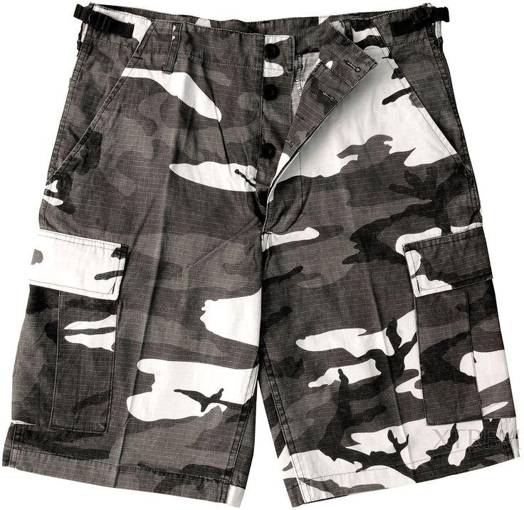 Pantalón corto de Camuflaje Urban Mil Tec #army #camo #heavy #rock #xtremonline
