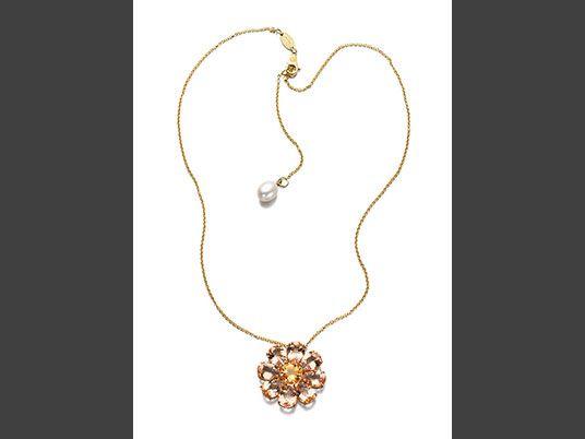 -colgante-flor-forma dolce-y-gabbana-joyería