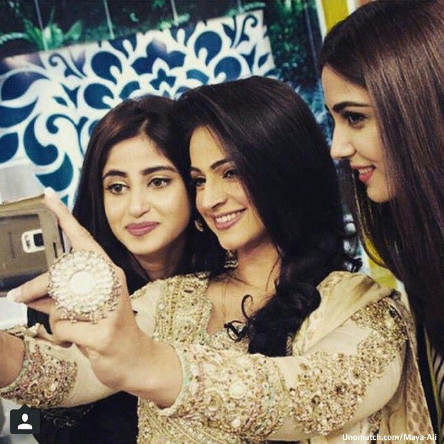 #SajalAly #MayaAli #Noorbukhari #Unomatch #PakistaniCelebrities #Lollywood #Beauty #Fasion #PakistaniFasion #ShowBiz www.unomatch.com/maya-ali