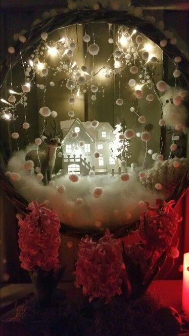 Mijn winterdecoratie.
