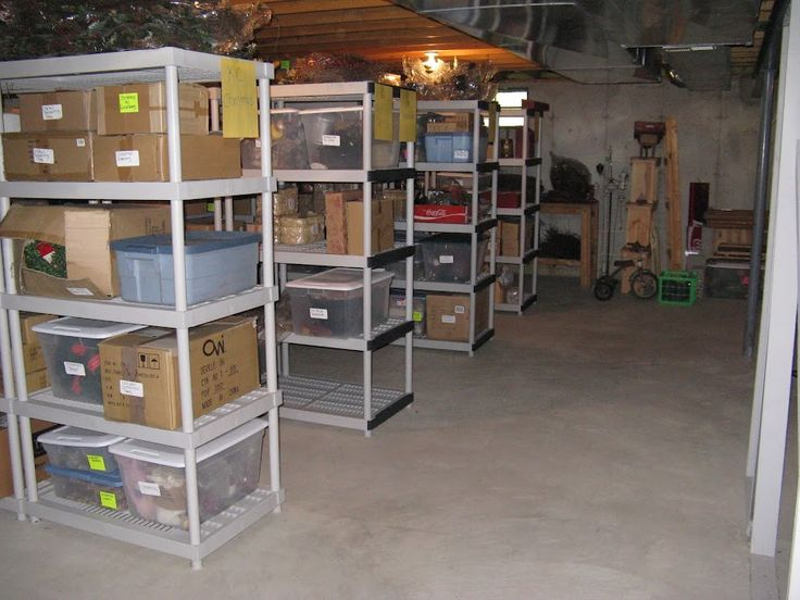 Best 25 Organized Basement Ideas On Pinterest Garage Storage