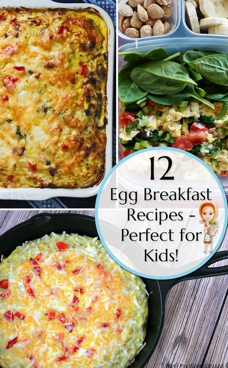 Don't miss these egg breakfast recipes because they're a perfect way for your kids to start their day!
