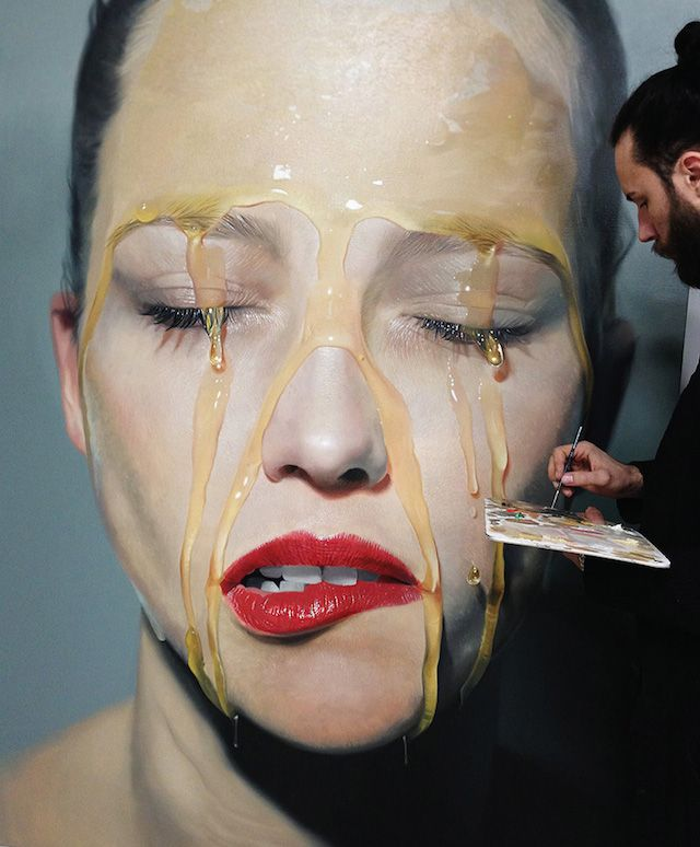 Hyperreal Paintings by Mike Dargas | iGNANT.de