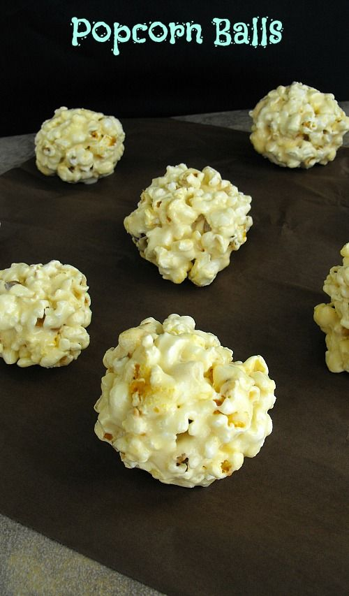 Easy Homemade Popcorn Balls (no candy thermometer needed!)