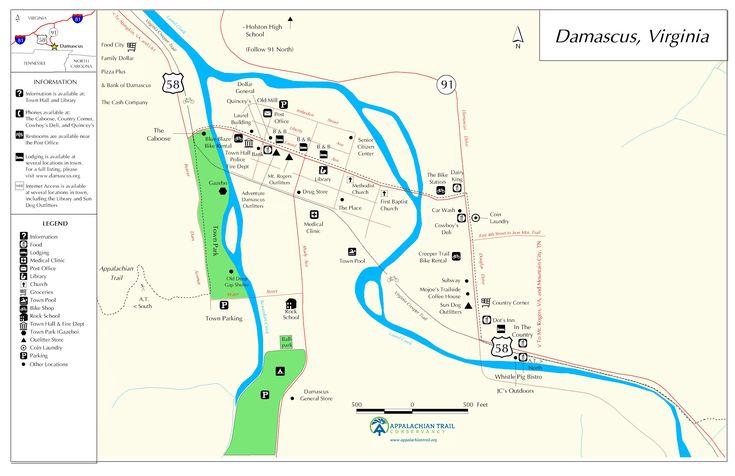 Damascus.  New vacation plan.