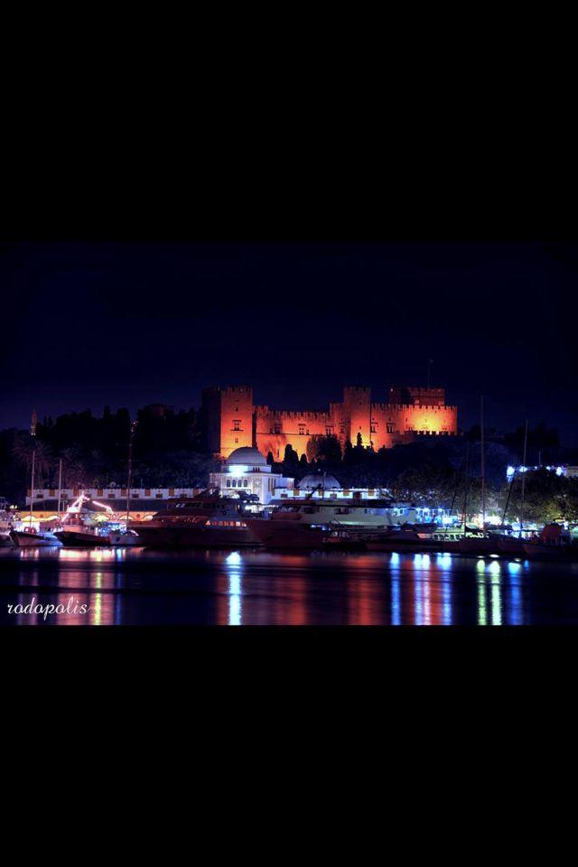 Night in Rhodes