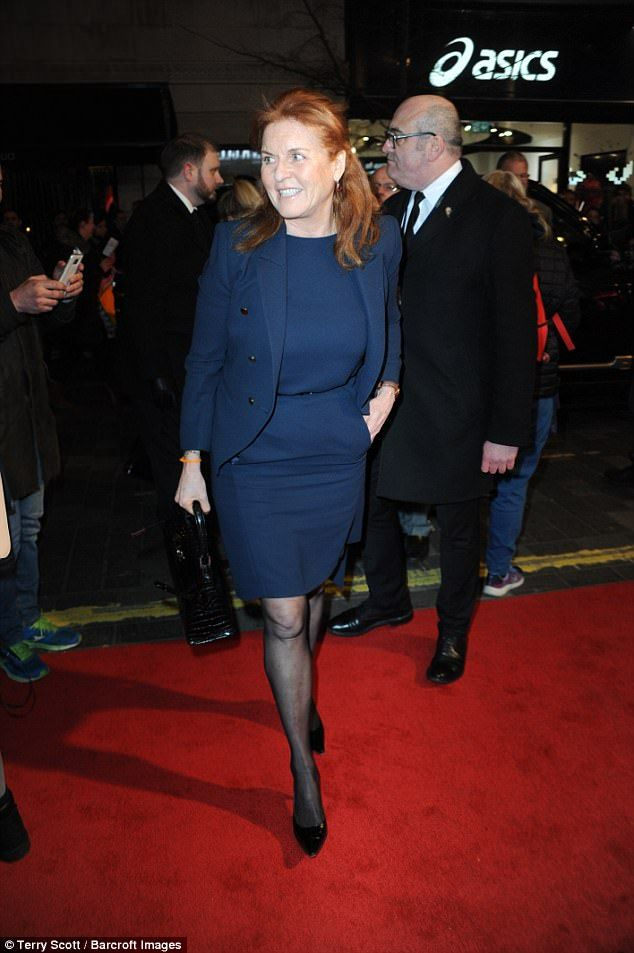 The Duchess of York worked with Sir Bruce for her charity Children in Crisis...