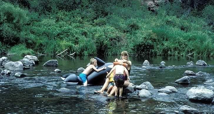 Tumalo State Park, OR - Near Bend! Yurts, hiking, showers, fishing, playground.