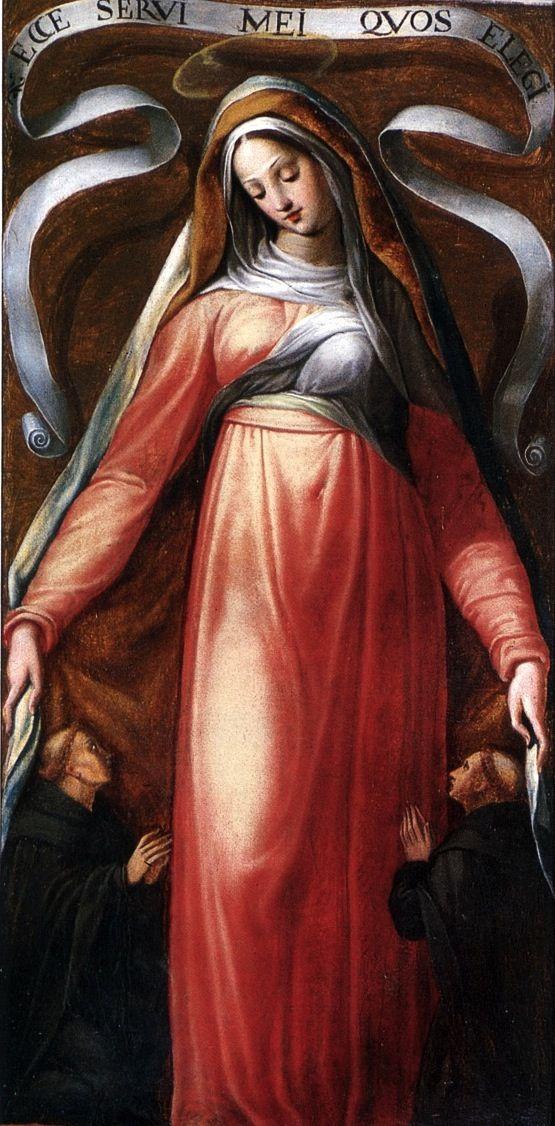 Livio Modigliani, Madonna dei Servi, late 16th century