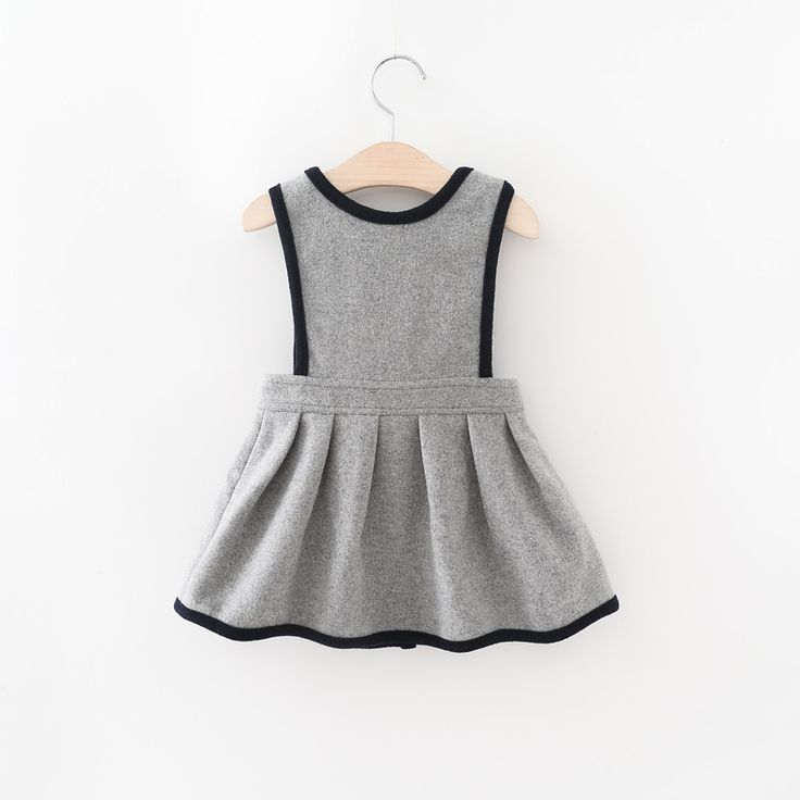 Vestido de moda Infantil Meninas Vestidos Baby Girl Camisola de Lã Breasted 2016 Bebês Princesa Outono Vestido de Inverno Menina roupas de Natal em Vestidos de Mãe & Kids no AliExpress.com | Alibaba Group