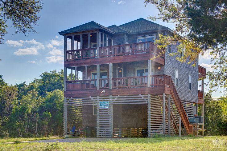 12 best buxton vacation rentals hatteras island images for Hatteras cabins rentals