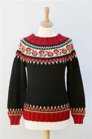 Tine Solheim - St. Moritz sweater