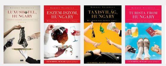 Szórakoztatóan tényfeltáró sorozatot indított Kordos Szabolcs és a 21. Század Kiadó Hungary sorozat címmel.