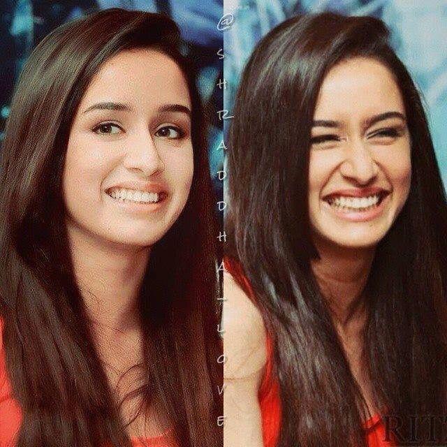 Lover her smile #ShraddhaKapoor