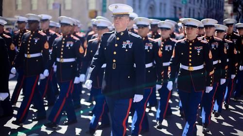 "The ""blood stripe"" on the dress blue uniform originally honored ..."